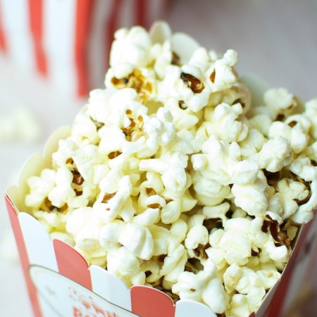 Pop corn al burro